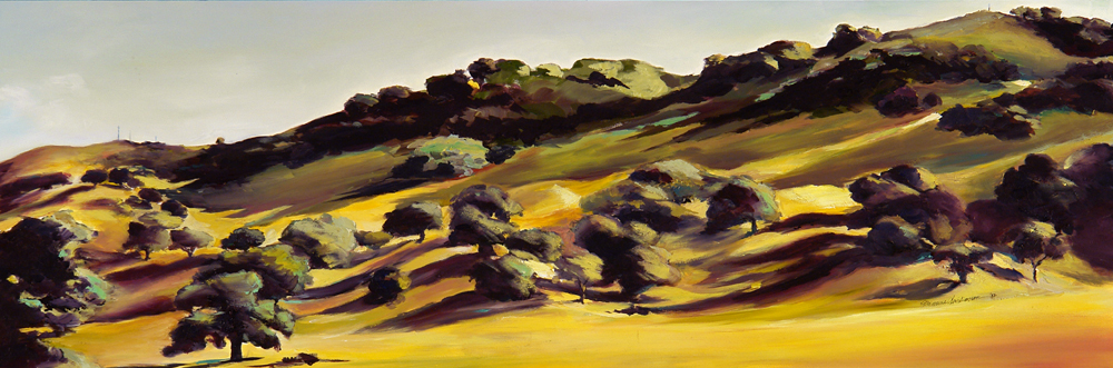 Late Afternoon in the Wine Country by Francene Christianson