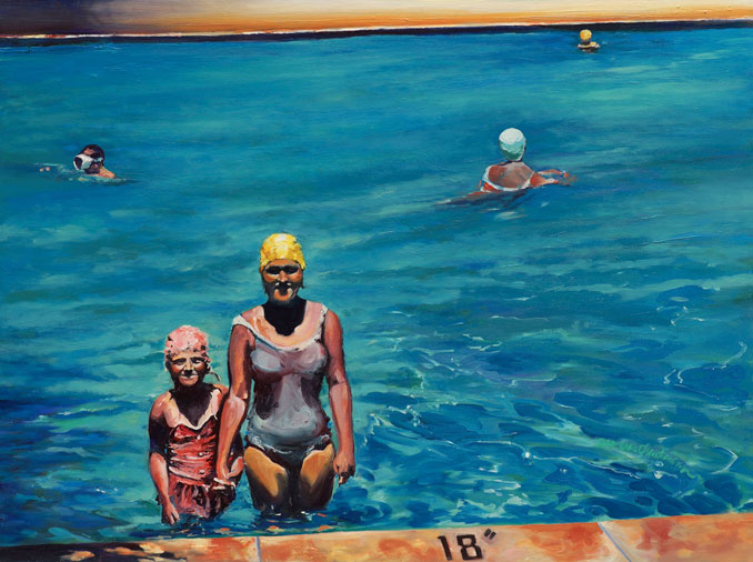 Francene Christianson will paint your family photos